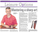 North Coast Courier – Mastering a sharp art