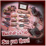 Baobab Custom Knife Show 28th – 30th October 2016