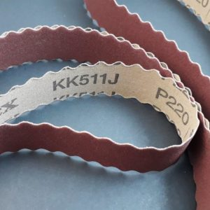 VSM KK511J Scalloped Belt – Handle Polishing