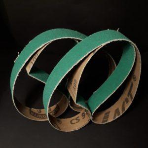 Ryobi / Mini Belt Grinder – Klingspor CS910Y Ceramic – stock removal