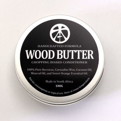 TophamKnifeCo WoodButtersplitTin1 Topham Wood Butter with Beeswax - 100g  4