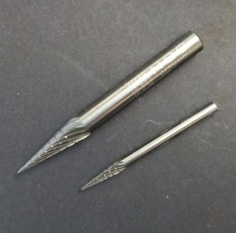 Tungsten Carbide Conical Burrs