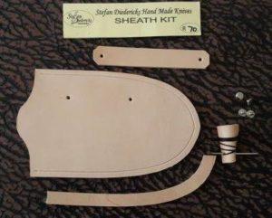 Leather Sheath Kit Assembly Tutorial