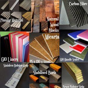 Handle & Bolster Material