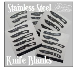 Knife Blanks – Various – Stainless Steel