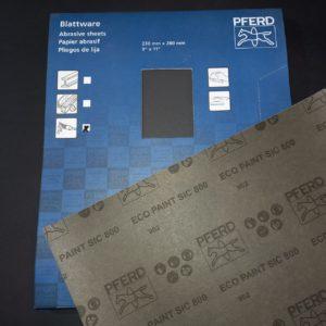 Pferd Sanding Sheets SiC 800 grit – NEW