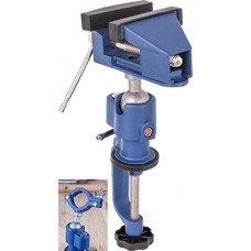 Adjustable clamping/drill vice